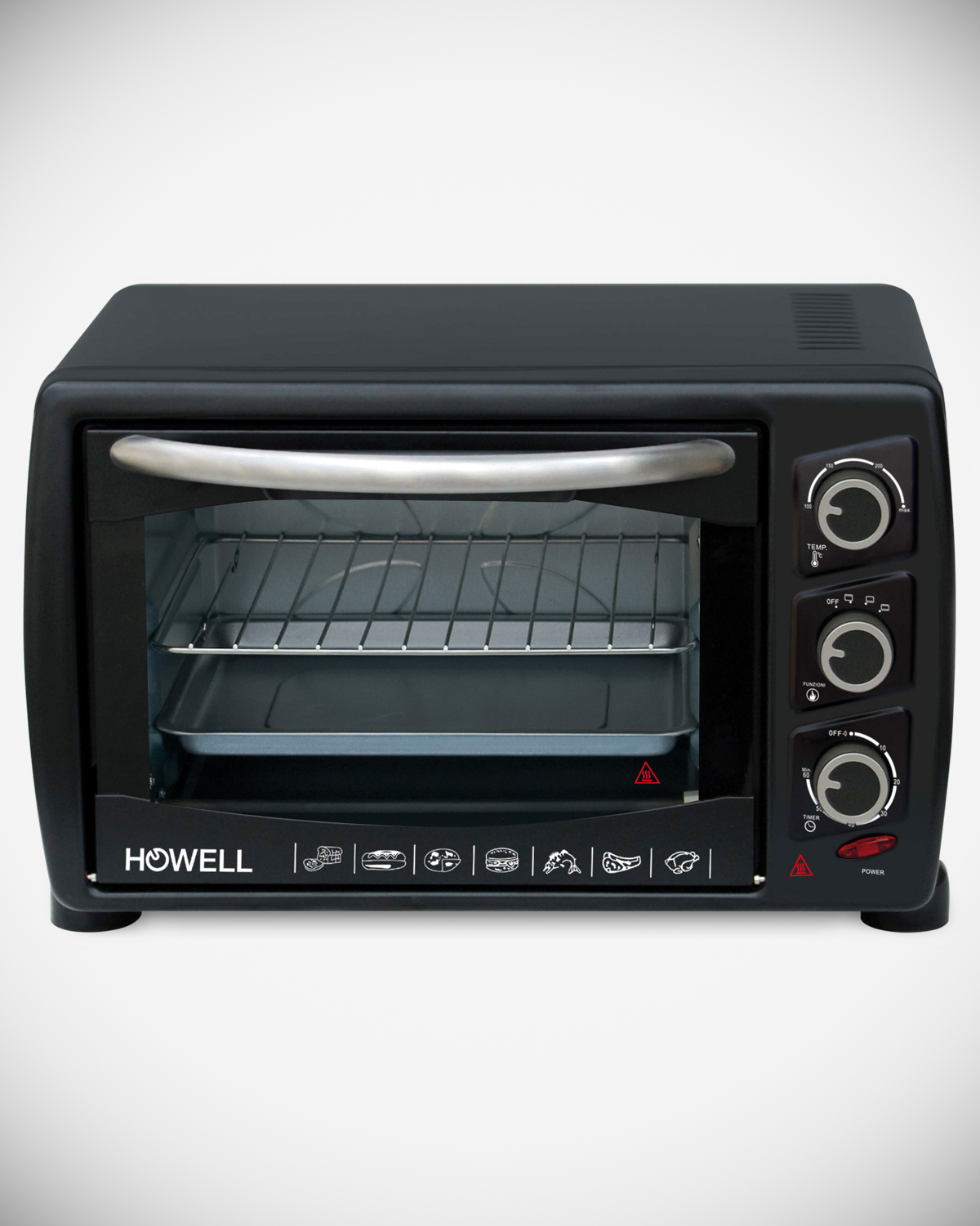 18 liters electric oven with convection HO.FE1814V