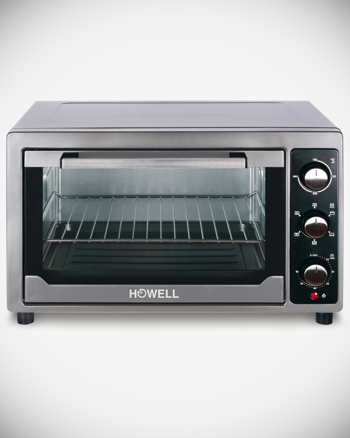 45 liters electric oven with convection and rotisserie HO.FE4502R