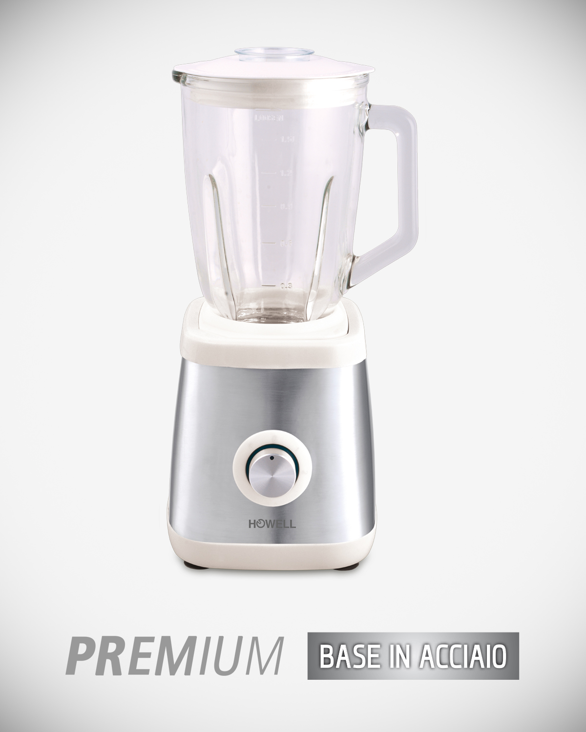 Professional 600 Watt blender with glass jar HO.FM6017