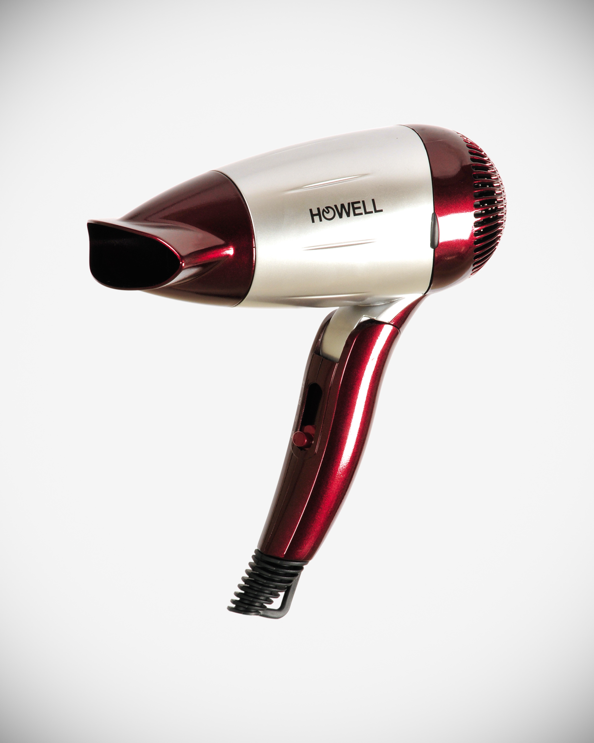 Hair dryer with foldable handle and beauty case HO.HPT1603