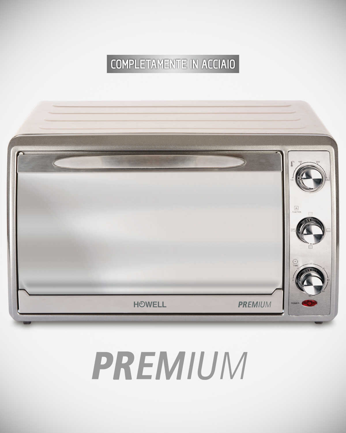 38 liters premium electric oven with convection HO.FE3806LPM