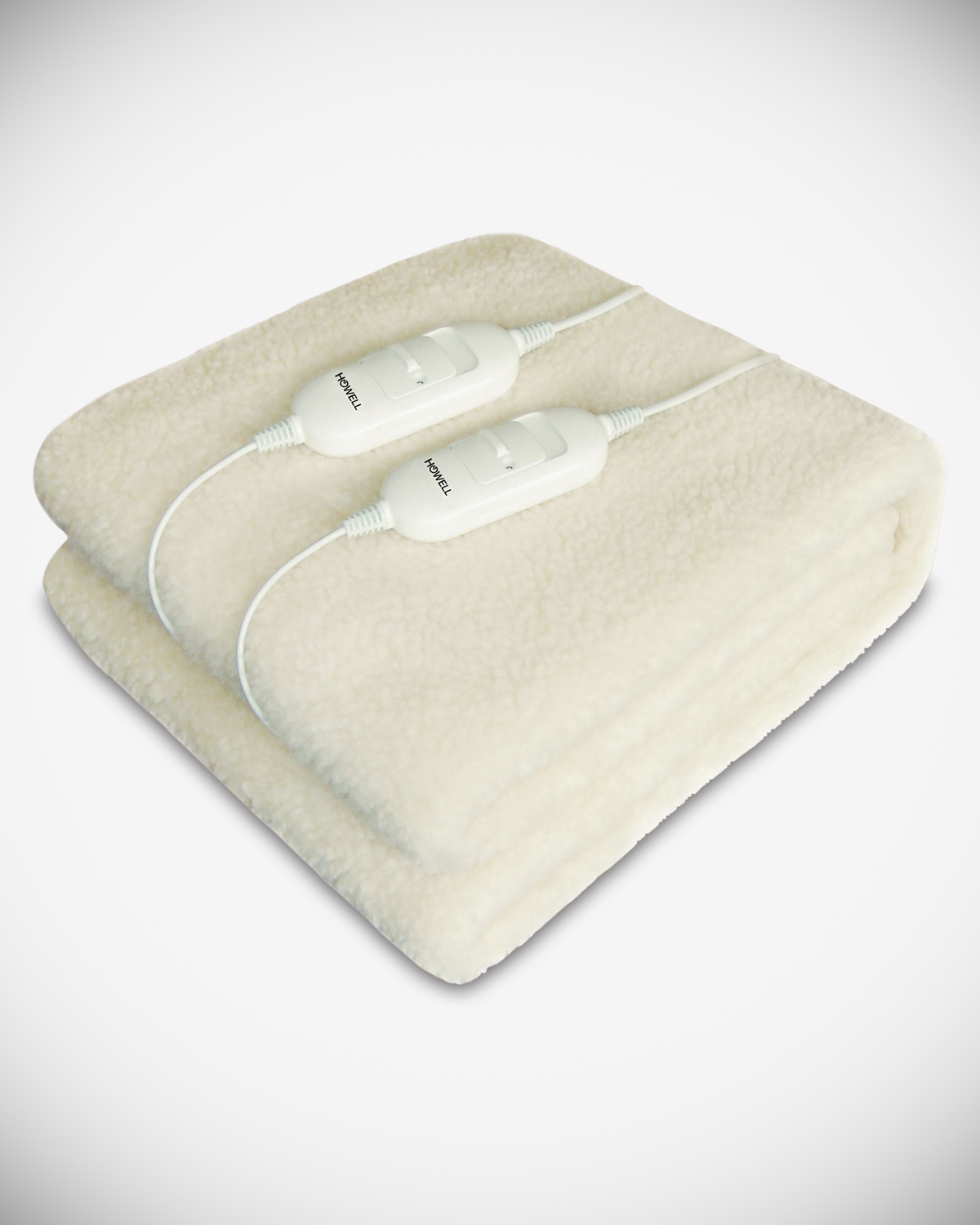 Full-size synthetic wool electric blanket HO.RSS2LS