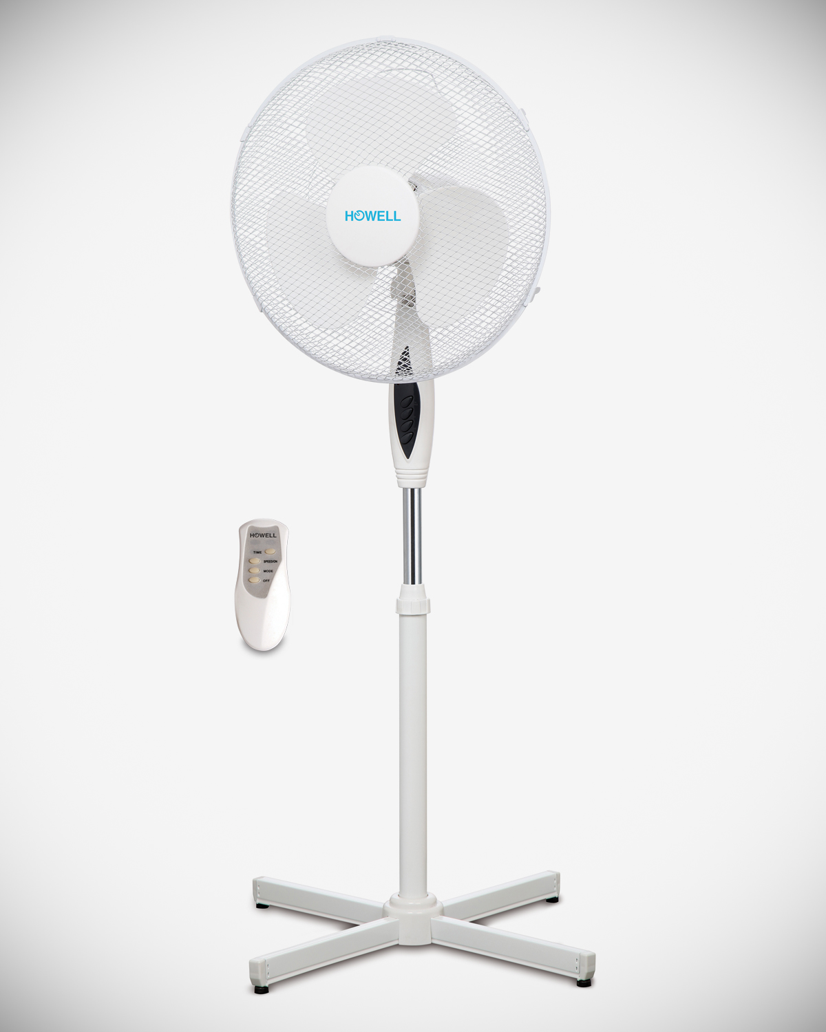 Deluxe stand fan with remote control HO.VEP442MRQ