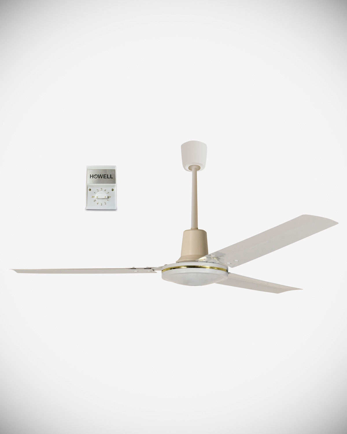 Ceiling fan with wall control HO.VS1201