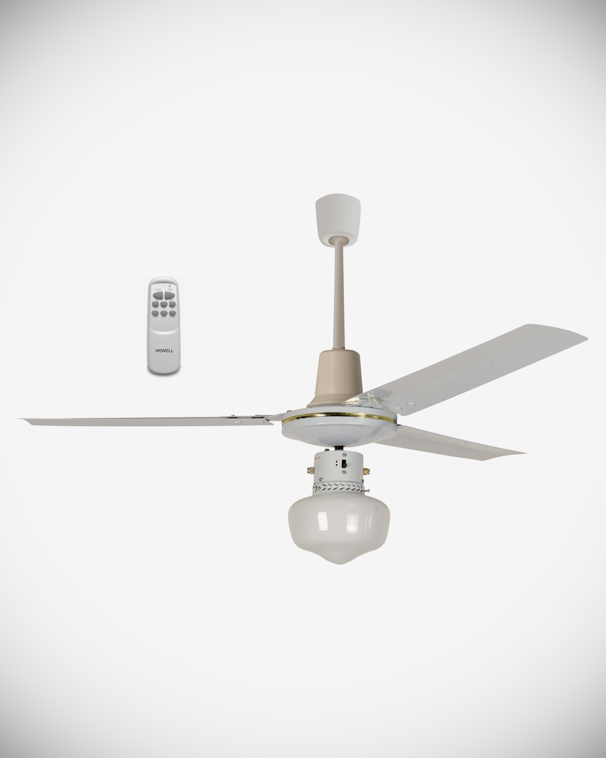 Ceiling fan with remote control HO.VSR1212